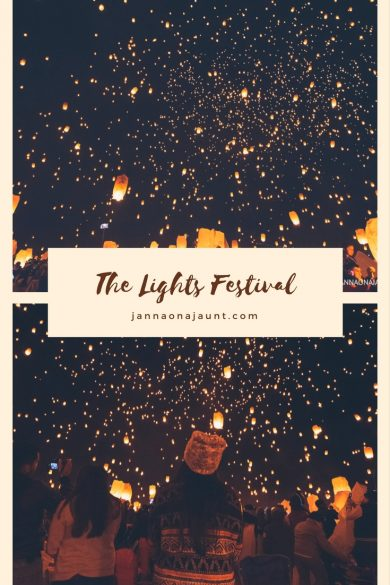 experiencing the lights fest
