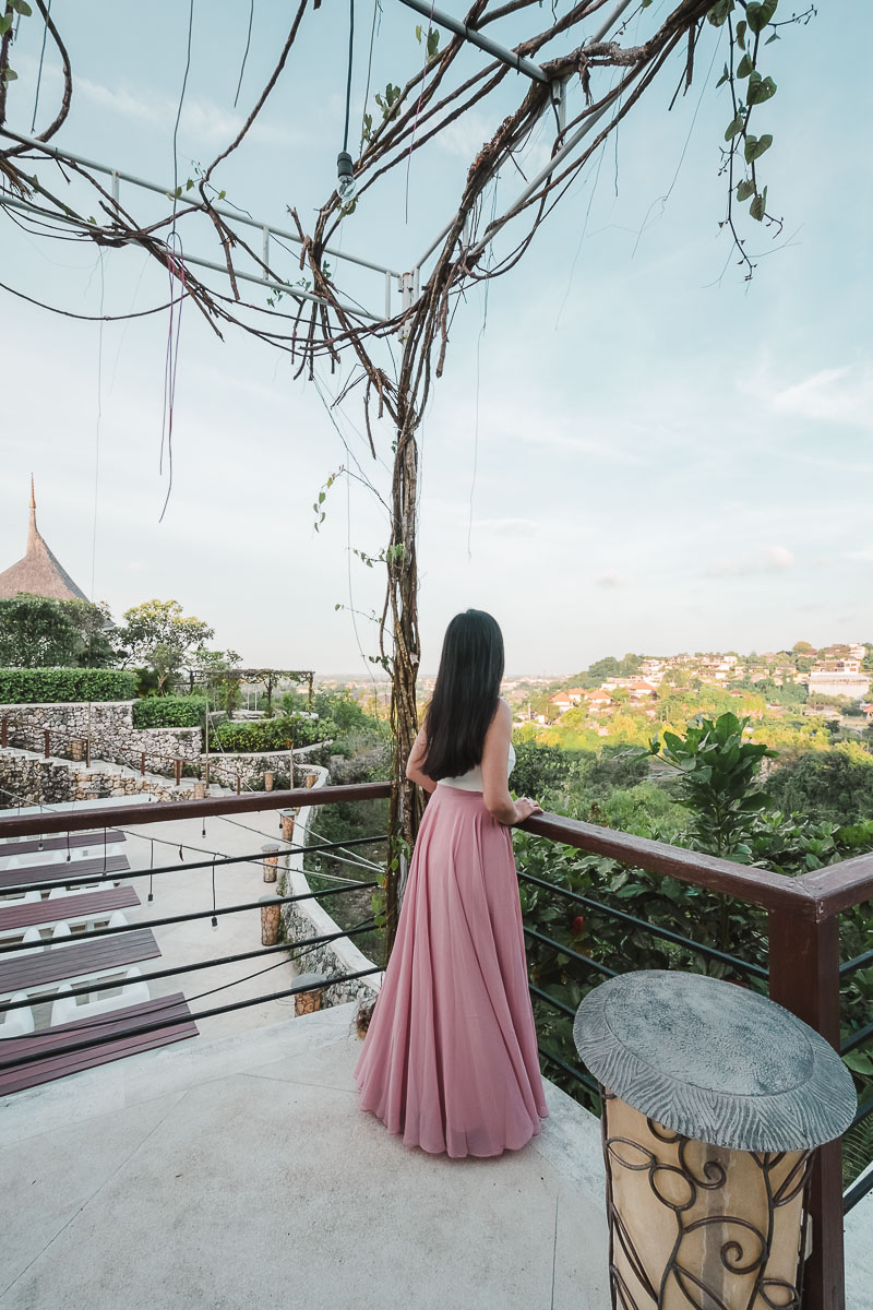 dining under the stars at opia bali