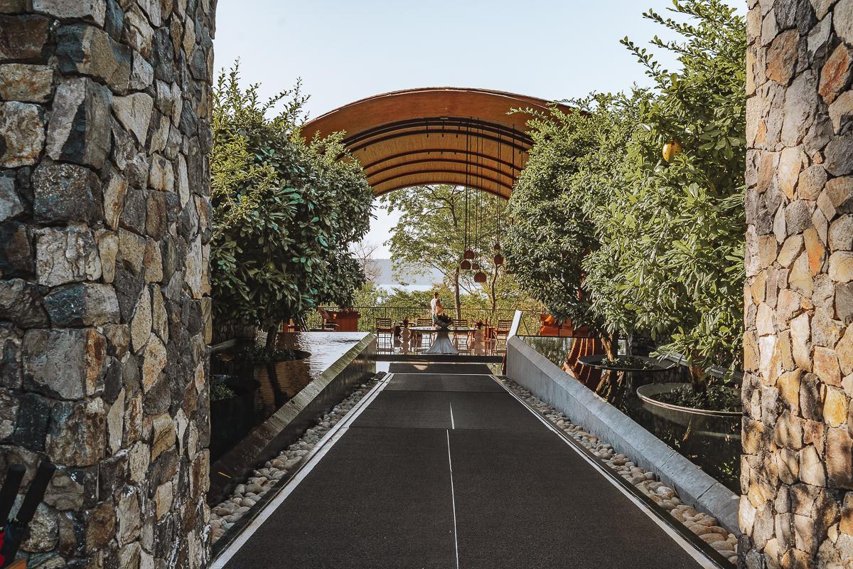 Andaz Costa Rica Entrance